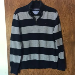 Tommy Hilfiger 3/4 zip pullover sweater